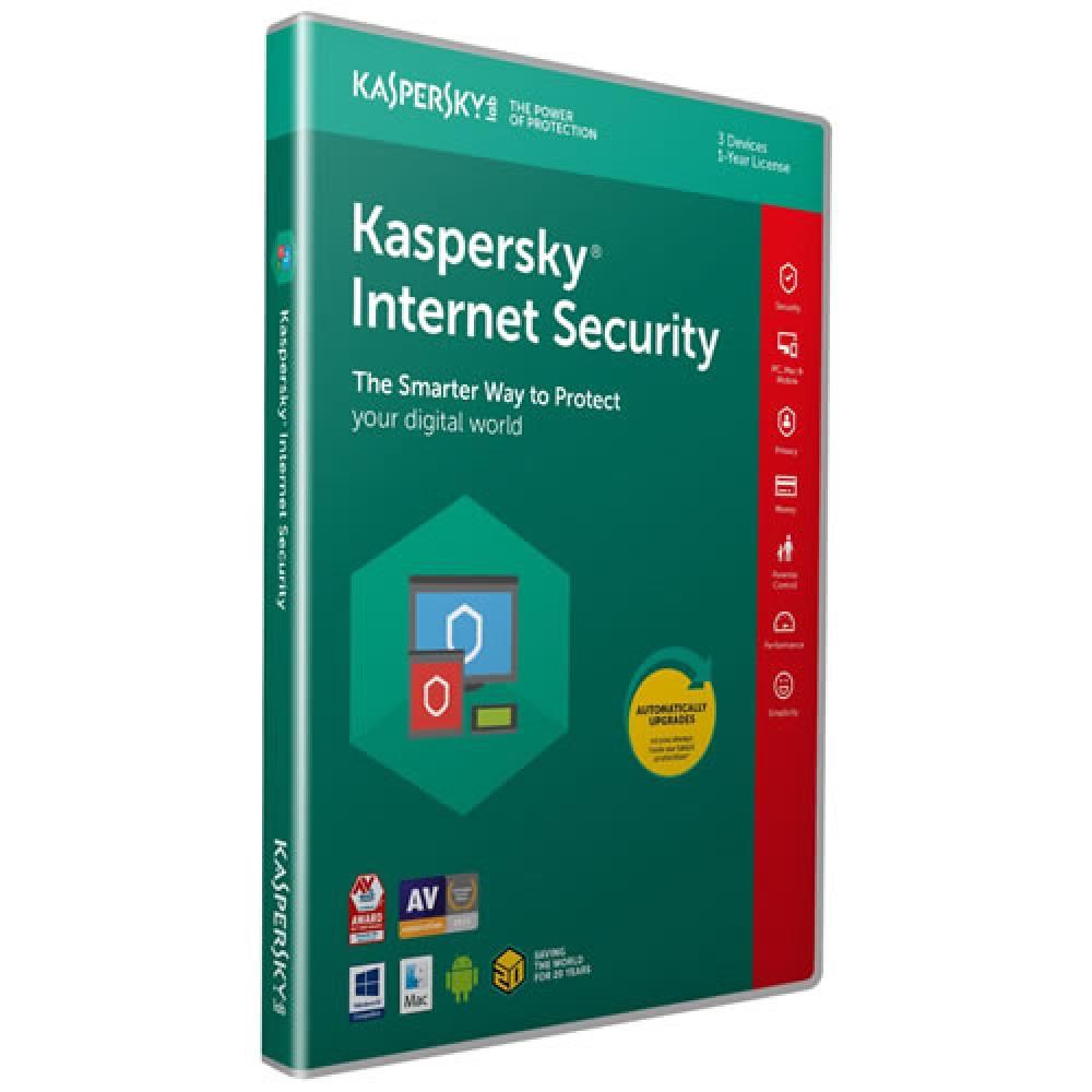KASPERSKY INTERNET 3 USER + 1
