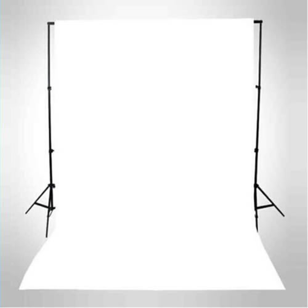 COTTON STUDIO  BACKGROUND OR BACKDROP 3 X 6M WHITE